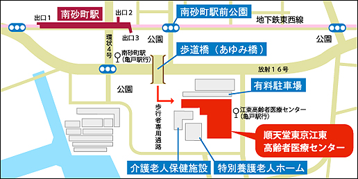 順天堂 東京 江東 高齢 者 医療 センター